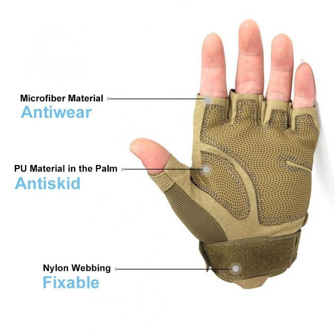 Outdoor Tactical Protective Gear Cycling Motorcycle Full Finger Gloves