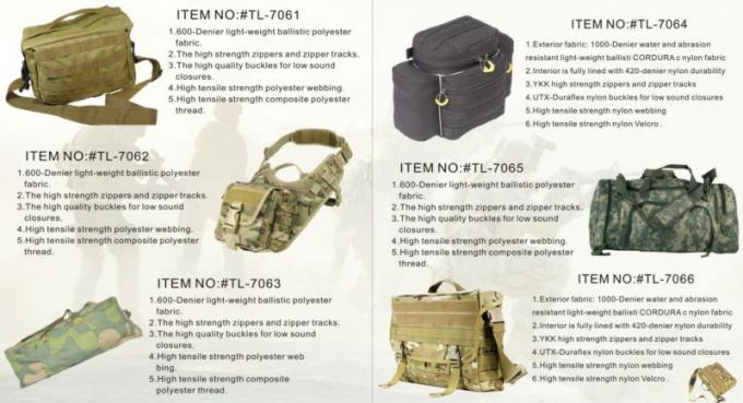 Tactical Heavy Duty Tool Bags Polyester High Density Insulation