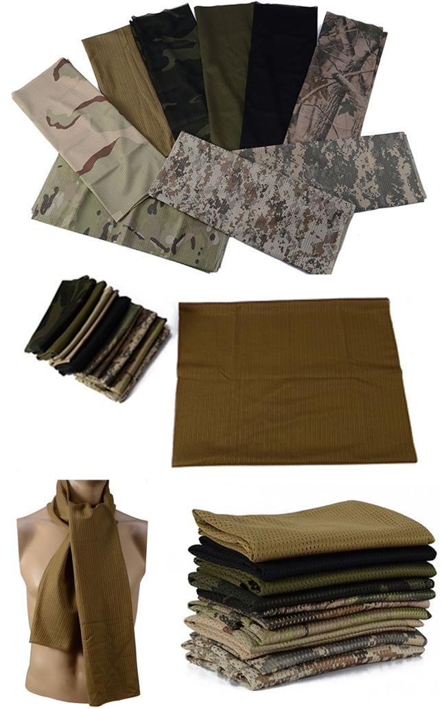 Camouflage Tactical Protective Gear Tactical Shemagh Head Neck Scarf