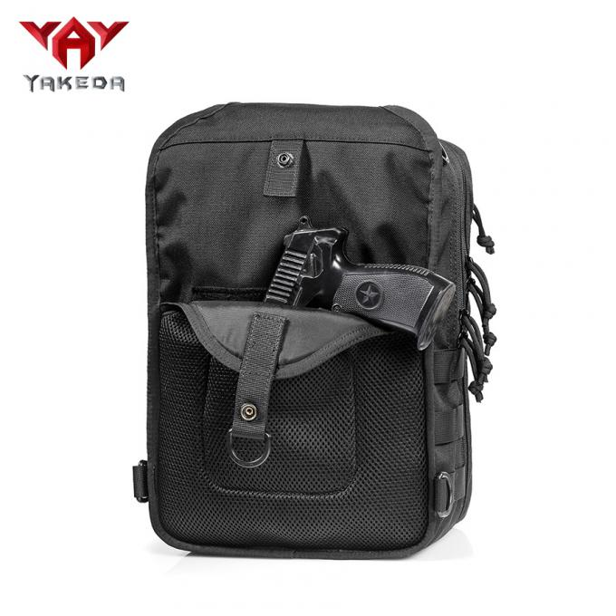 Nylon Outdoor Gear Rover Sling Pack Cross Body Gun Backpack design for handgun move quickly