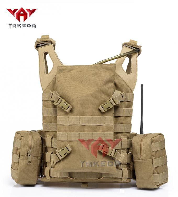 Army Fans Outdoor CS Game Tactical Gear Vest , Special Police Combat Training Vest