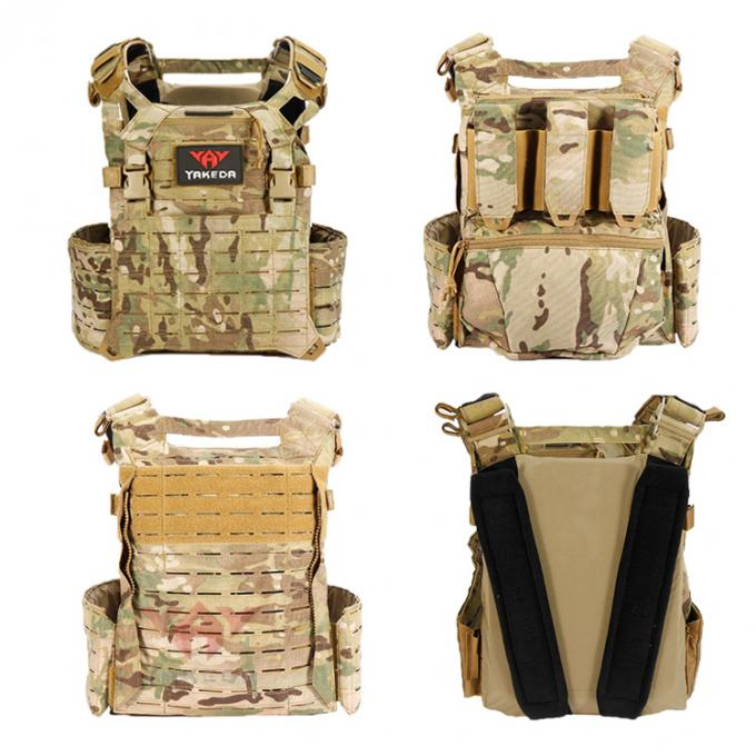 Military Combat Assault Tactical Vest Molle Gear , Army Swat Ballistic Body Armor