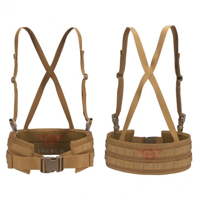 1000D Nylon X - Shaped Suspender Training Combat Girdle Military Multi - Functional Tactical Girdle