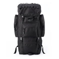 China 65L Outdoor Tactical Gear Backpack Shoulders Waterproof With Polyester supplier
