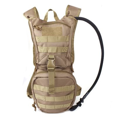 Tactical Hydration Pack Backpacklightweigh With 2.5L Bladder , Multifunctional water bag