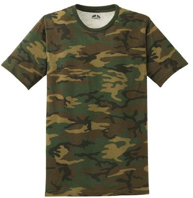 Customized Army Camouflage Uniform , Outdoor Fitness Camouflage T Shirts