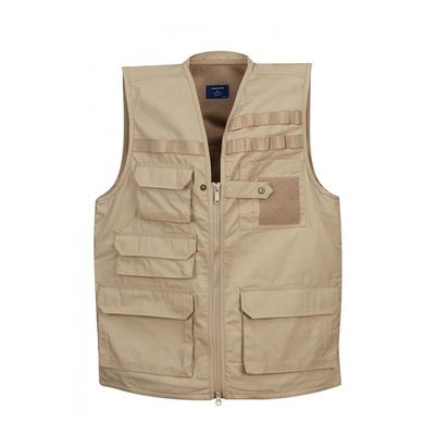 Body Armor Tactical Vest With Chest Holster , Tactical Shooting Vest