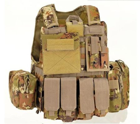 Airsoft Bullet Proof Tactical Vest Ballistic , Teflon Bullet Proof Vest