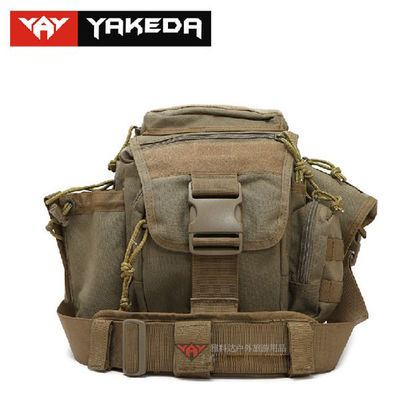 Hiking Nylon Military Tool Bag Heavy Duty With Water Resistant