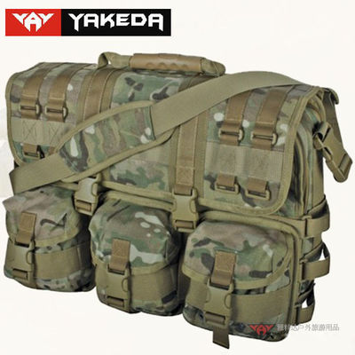 Military Small Bicycle Tool Bag , Bike Tool Bag Polyester Zipper