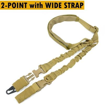 Adjustable Tactical Gun Sling Rope Wide Shoulder Strap Cover