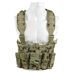 Swat Tactical Gear Vest Chest Rig / Molle Tactical Combat Vest