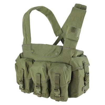 China Lightweight Military Bulletproof Vest Molle Tactical Chest Rig Holster supplier