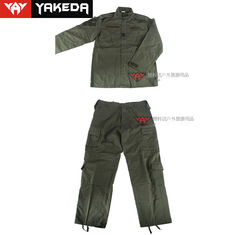 Durable Army Camouflage Uniform Anti - Static Custom For Male