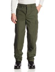 Military Style Mens Camo Pants Cotton With Adjustable Waist Tabs
