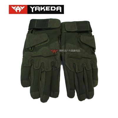 Durable Tactical Protective Gear Black Tactical Shooting Gloves