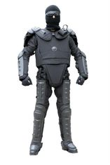 Police Riot Full Body Armor Suit , Full Body Protective Suit Light Weight