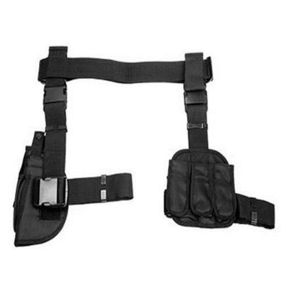 3 Piece Tactical Drop Leg Holster , Horizontal Shoulder Holster