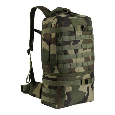 Army Green Molle Tactical Gear Backpacks For Hiking , Tactical Day Pack
