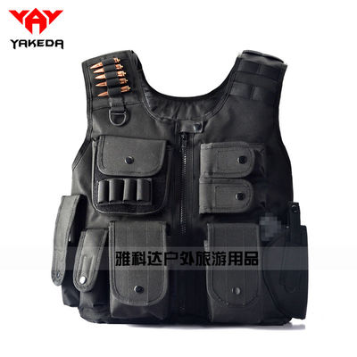 Light Tactical Vest For Special Profession Combat Wear-resistant and heat-resistant Vest