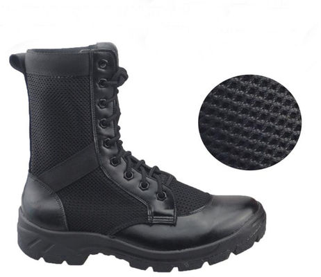 China Breathable Mesh Leather Military Tactical Boots For Training Special Forces supplier