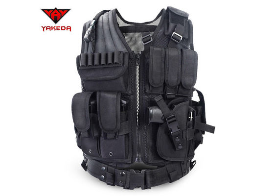 China Improved Outer Hunting Tactical Vest For Women , Tactical Molle Vest supplier