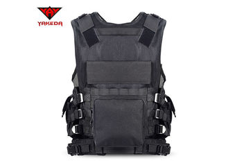 SWAT Tactical Vest Tactical Gear Vest Special Forces Black 57CM * 44CM