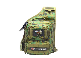 Camping Water Resistant Tactical Day Pack Trekking Woodland Tactical Gear for Men with Patch
