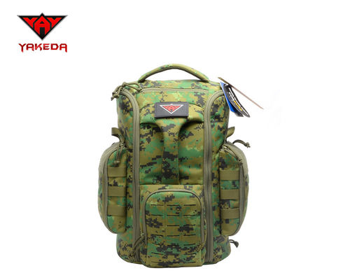 Outdoor Traveling Laptop Tactical Day Pack , Waterproof Camping Military Tactical Army Style Backpack