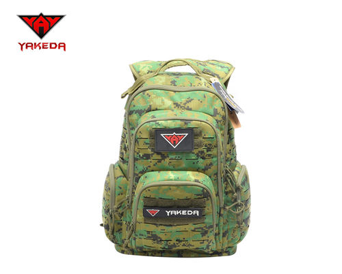 Military Tactical Army Tactical Backpack , Eco Friendly Camping Tactical Gear Bags