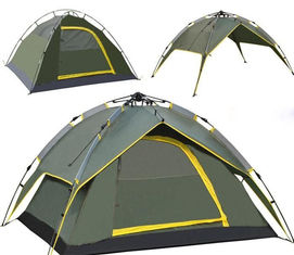 Automatic Family Camping Tent Molle Gear Accessories , Windproof Outdoor Camping tent
