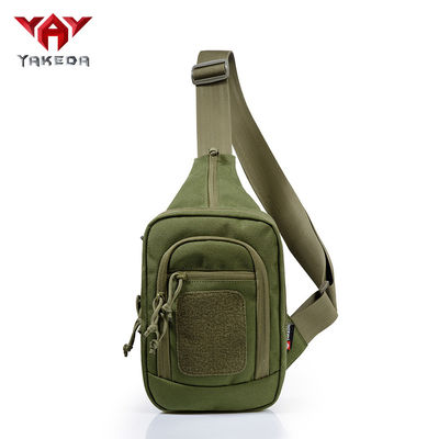 China Tan / Green High-density 1000d Nylon Tactical Gun Bags with Pistol Nylon Military Gear supplier
