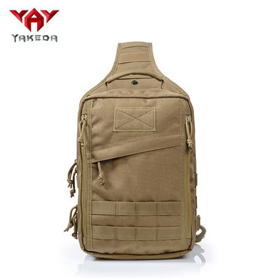 China Outdoor Small Tactical Sling Pack for Handgun With Multiple Zippered Pockets supplier