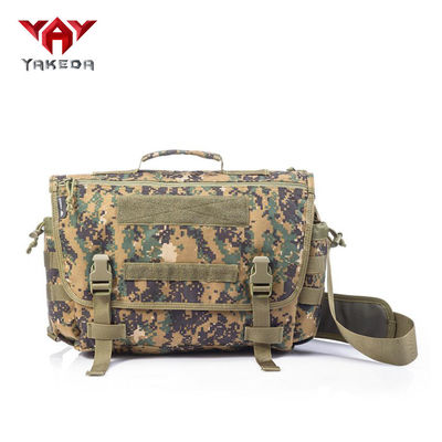 Versatile Compact Messenger Bag For Military And Law Enforcement Operators