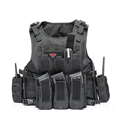 China Outdoor Army Military Bulletproof Vest Tactical Vest Outdoor Vest for Field Play supplier