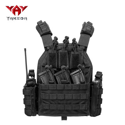 China Multi - Functional 1000D Nylon Police Tactical Vest Expand Training Field Equipment supplier