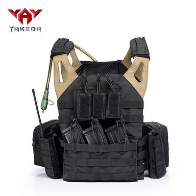 China Army Fans Outdoor CS Game Tactical Gear Vest , Special Police Combat Training Vest supplier
