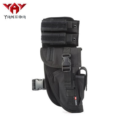 Universal Tactical Leg Holster With Magazine Pouch Fully Adjustable And Removable