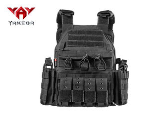 China Military Hunting Security Bullet Proof Vest / Police Swat Combat Weight Tactical Vest supplier