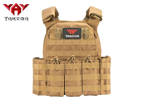 Molle Safety Lightweight Tactical Gear Vest / Military Combat Training Bullet Proof Vest
