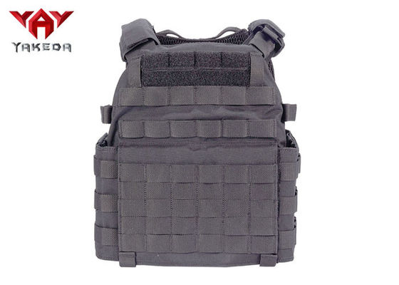 Adjustable Tactical Gear Vest , 1000D Nylon Military Combat Training Police Bulletproof Vest