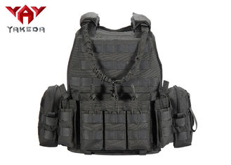Molle Tactical Protection Military Bullet Proof Vest Combat Training Vest With Plate Carrier