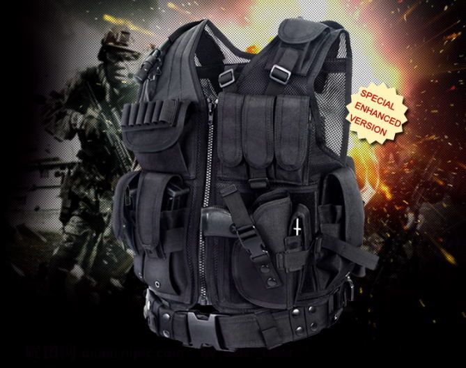 military tactical vest swat vest for army and police to trainning