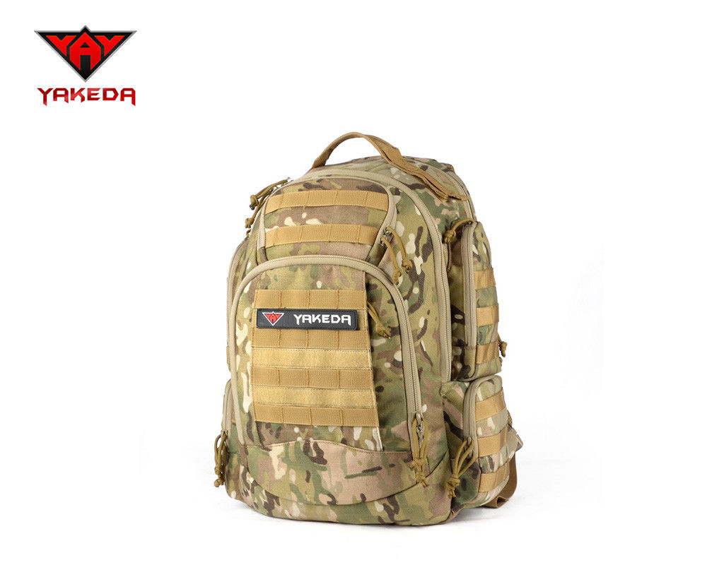 25ec50756eba Outdoor Army Style Backpack , 36-55L Tactical Molle BaG For Training ...